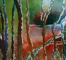 Semi abstract painting by BeenaKhan