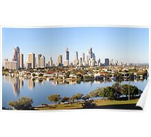 Gold Coast City early morning Poster