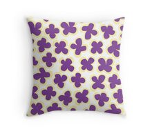 Flowers For Mademoiselle: III Throw Pillow