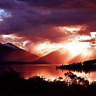 Lake Te Anau. South Island, New Zealand. (2)  by Ralph de Zilva