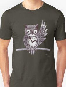 Vintage Owl. Unisex T-Shirt