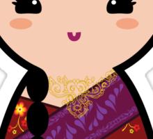 Kokeshi - Hindu Girl Sticker