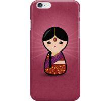 Kokeshi - Hindu Girl iPhone Case/Skin