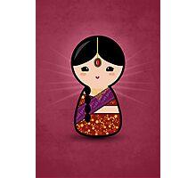 Kokeshi - Hindu Girl Photographic Print
