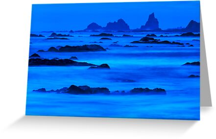 Twilight at Rialto Beach by Jim Stiles