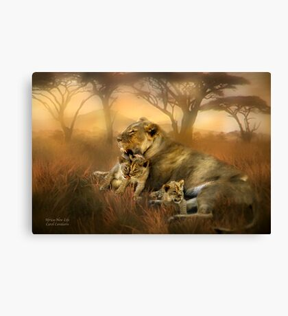 Africa - New Life Canvas Print