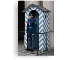 Czech Guard Canvas Print