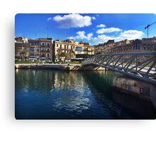 Bormla bridge - Chiara Conte Canvas Print