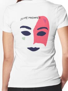 iLoveMakonnen EP - Mask Women's Fitted V-Neck T-Shirt