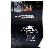PBY BLACK CAT Poster