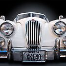 Jaguar XK-140 by Kurt Golgart