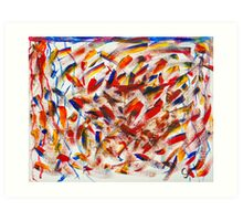 Abstract TWO Art Print