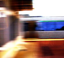 Train - 11 03 13  by Robert Phillips