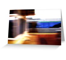 Train - 11 03 13  Greeting Card