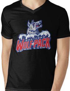 Hartford Wolf Pack Mens V-Neck T-Shirt