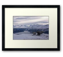 View from Strengen Framed Print
