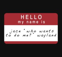 The Mortal Instruments: Jace's Name (Ver 3) by dictionaried
