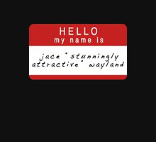 The Mortal Instruments: Jace's Name (Ver 4) Unisex T-Shirt