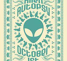 Alien Autopsy by Brett Gilbert