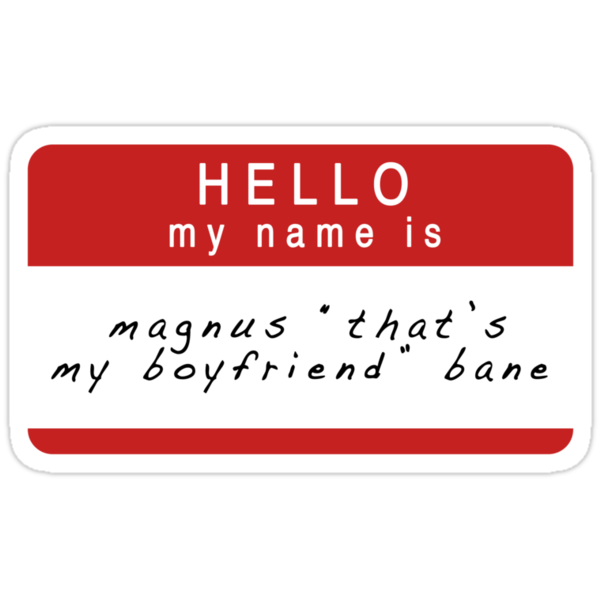 The Mortal Instruments & The Infernal Devices: Magnus's Name (Ver 2) by dictionaried