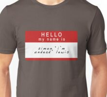 The Mortal Instruments: Simon's Name (Ver 1) Unisex T-Shirt