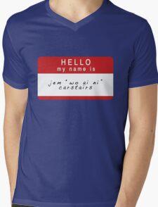The Infernal Devices: Jem's Name (Ver 1) Mens V-Neck T-Shirt