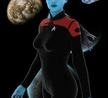 Andorian Wonder Woman by Jason Hauck