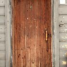 old wooden door by mrivserg