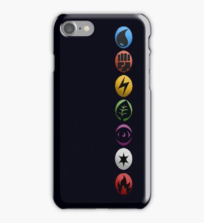 Pokemon Type Symbols iPhone Case/Skin