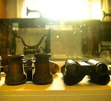 Binoculars of age by Dean Wiles