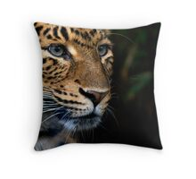 Chinese Panther Throw Pillow