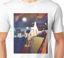 Hie Gait, the Town of Dysart, Scotland [colour version] Unisex T-Shirt
