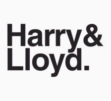 Harry & Lloyd - Dumb & Dumber by misoramen