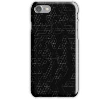 Triangle Outline A iPhone Case/Skin