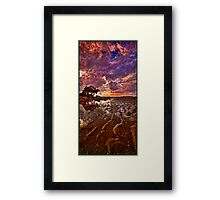 A narrow viewpoint Framed Print