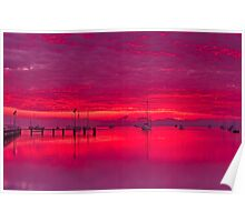 """Corio Twilight Reflections"" Poster"