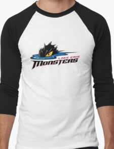 Lake Erie Monsters Men's Baseball ¾ T-Shirt