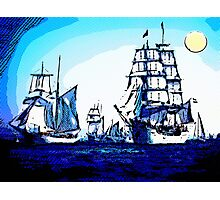 blue voyage Photographic Print