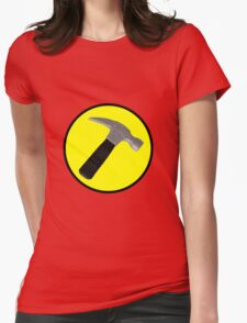 Captain Hammer Logo  Womens Fitted T-Shirt