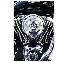 Screaming Eagle. Harley engine #1 Poster