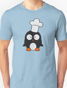 Cute Penguin Chef Cook T-Shirt