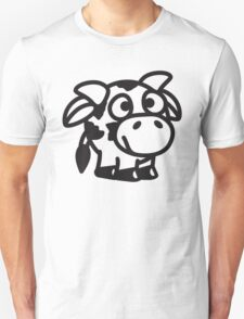 Funny Cute Baby Cow T-Shirt