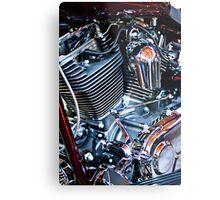 Harley engine Metal Print