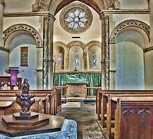 St Mary The Virgin Barfreston by Dave Godden