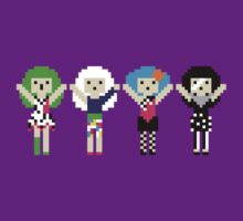 80s Rock Bad Girl Pixels by rydiachacha