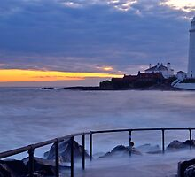 Lighthouse - Sunrise by LeeGalloway
