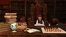 The Bookworm by Liam Liberty