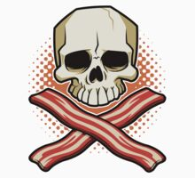 Skull and Cross Bacon by TS Rogers