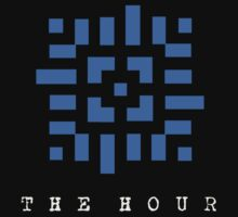The Hour - Black T-shirt by Molly Atlas