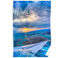 Plane wing  Poster